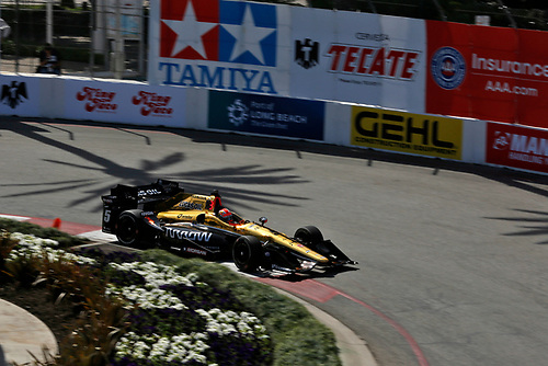 15-17 April, 2016, Long Beach, California USA<br /> James Hinchcliffe<br /> ©2016, Phillip Abbott<br /> LAT Photo USA