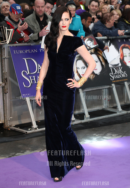 Eva Green arriving for the European Premiere of 'Dark Shadows' at Empire Leicester Square, London. 09/05/2012 Picture by: Alexandra Glen / Featureflash