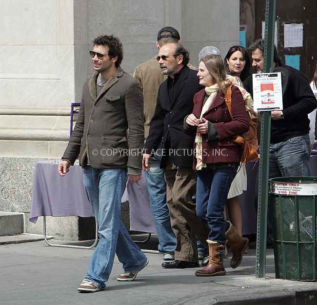 WWW.ACEPIXS.COM ** ** ** ....April 13 2008, New York City....EXCLUSIVE - ALL-ROUNDER....Actor Jeremy Sisto (R) strolls around the West Village....Please byline: DAVID MURPHY -- ACEPIXS.COM.. *** ***  ..Ace Pictures, Inc:  ..tel: (646) 769 0430..e-mail: info@acepixs.com..web: http://www.acepixs.com