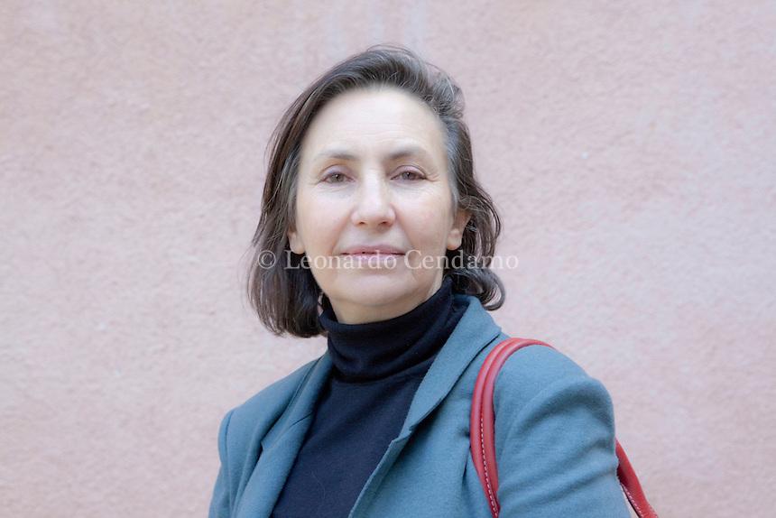 Teresa Cremisi, n©e le 7 octobre 1945 a Alexandrie ( E\'gypte ), est une dirigent economique italianne PDG de Grupe Flammarion. ¬© Leonardo Cendamo