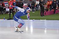 SPEEDSKATING: HAMAR: Vikingskipet, 28-02-2020, ISU World Speed Skating Championships, Sprint, 500m Men, Ruslan Murashov (RUS), ©photo Martin de Jong