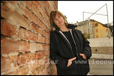 Genève, le 13.10.2006.Mme Catherine Gaillard, Conseillère municipale de Solidarité et chef de groupe de Solidarités- Indépendants. .© J.-P. Di Silvestro / Le Courrier