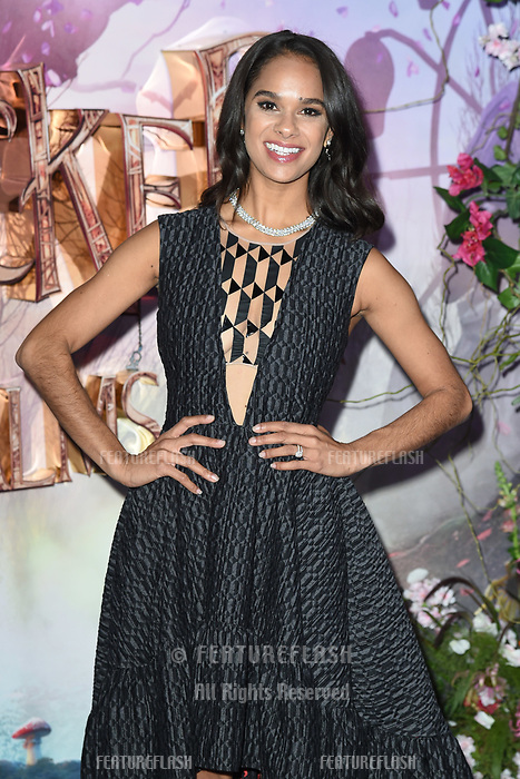 "LONDON, UK. November 01, 2018: Misty Copeland at the European premiere of ""The Nutcracker and the Four Realms"" at the Vue Westfield, White City, London.<br /> Picture: Steve Vas/Featureflash"