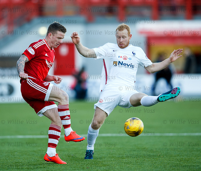 Adam Rooney and Ziggy Gordon