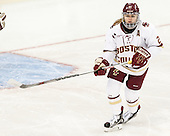 Lexi Bender (BC - 21) - The Boston College Eagles defeated the visiting UConn Huskies 4-0 on Friday, October 30, 2015, at Kelley Rink in Conte Forum in Chestnut Hill, Massachusetts.