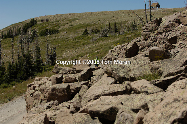 American Mountain Classic, Brian Head, Utah.Stage 2- The Peak.23 August 2008.Photo by Tom Moran.tom-moran@earthlink.net