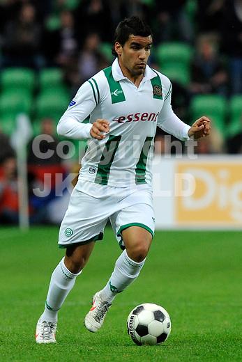 GRONINGEN - Voetbal, FC Groningen -  De Graafschap, Eredivisie, stadion Euroborg, seizoen 2011-2012, 27-04-2012 FC Groningen speler Matias Jones.