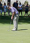 August 5, 2012: J.J. Henry putts on th 5th green during the final round of the 2012 Reno-Tahoe Open Golf Tournament at Montreux Golf & Country Club in Reno, Nevada.