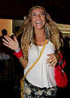 SAO PAULO, SP, 19 DE FEVEREIRO 2012 - CAMAROTE BAR BRAHMA - A apresentadora Barbara Koboldt e vista no Camarote Bar Brahma, no primeiro dia de desfiles do Grupo Especial do Carnaval de Sao Paulo, na madrugada deste domingo 19, no Sambodromo do Anhembi regiao norte da capital paulista. (FOTO: MILENE CARDOSO - BRAZIL PHOTO PRESS).
