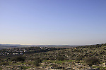 Israel, Shephelah, a view from Sher Hill