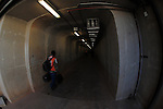 Media access tunnel to Soccer City during the 2010 World Cup Soccer match between Argentina vs Korea Republic played at Soccer City in Johannesburg, South Africa on 17 June 2010.  Photo: Gerhard Steenkamp/Cleva Media