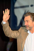 August 27, 2002, Montreal, Quebec, Canada; <br /> <br /> Robert De Niro gives a press conference, August 27, 2002, in Montreal, Canada, about the movie CITY BY THE SEA, presented in the official competition of the  26th Montreal World Film Festival