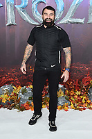"LONDON, UK. November 17, 2019: Ant Middleton arriving for the ""Frozen 2"" European premiere at the BFI South Bank, London.<br /> Picture: Steve Vas/Featureflash"