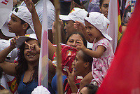 SÃO PAULO,SP, 15.03.2017 - PROTESTO-SP - O ex presidente Luiz Inacio Lula da Silva durante ato de Trabalhadores e integrantes de centrais sindicais e diversas outras entidades protestam na Avenida Paulista, em São Paulo, na tarde desta quarta-feira, 15, Dia Nacional de Paralisação e Mobilização, contra as Reformas da Previdência e Trabalhista.  (Foto: Danilo Fernandes/Brazil Photo Press)