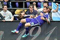 Marcin Wasilewski of RSC Anderlecht  .Anderlecht Campione del Belgio .Football Calcio 2012/2013.Jupiter League Belgio .Foto Insidefoto .ITALY ONLY