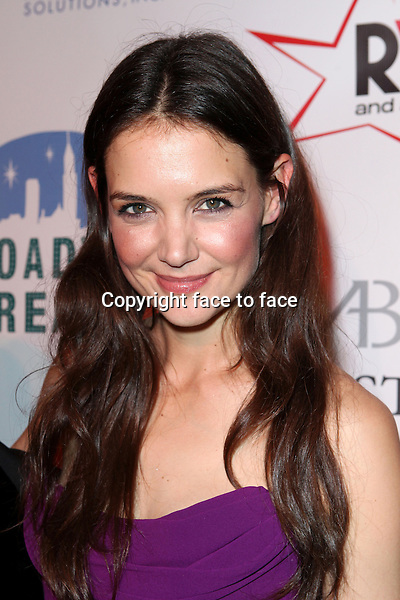 "Katie Holmes attending the Broadway Dreams Foundation's ""Champagne & Caroling Gala"" at Celsius at Bryant Park, New York, 10.12.2012...Credit: McBride/face to face"