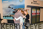 Jack Brosnan reunited with his parents Gerard and Marguerite and sisters Karen and Claire after his family touch down at the Kerry Airport returning from Australia last Saturday.