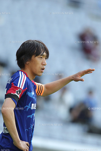 Shunsuke Nakamura (F Marinos),.APRIL 28, 2012 - Football / Soccer : 2012 J.League Division 1 match betweenYokohama F Marinos 3-1 Vissel Kobe at Nissan Stadium in Kanagawa, Japan..(Photo by Kenzaburo Matsuoka/AFLO)