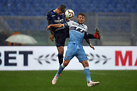 Gianluca Mancini of Atalanta and Ciro Immobile of Lazio <br /> Roma 5-5-2019 Stadio Olimpico Football Serie A 2018/2019 SS Lazio - Atalanta <br /> Foto Andrea Staccioli / Insidefoto