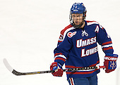 Chad Ruhwedel (UML - 3) - The University of Massachusetts Lowell River Hawks defeated the Boston College Eagles 4-2 (EN) on Tuesday, February 26, 2013, at Kelley Rink in Conte Forum in Chestnut Hill, Massachusetts.