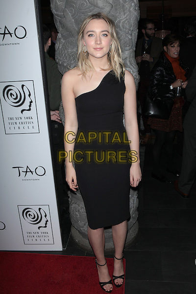 NEW YORK, NY - JANUARY 4: Saoirse Ronan at the New York Film Critics Circle Awards at TAO Downtown in New York City on January 4, 2016. <br /> CAP/MPI99<br /> &copy;MPI99/Capital Pictures