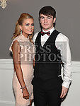 Ross Nally and Courtney McDonagh pictured at the Newtown Blues dinner dance in the Westcourt hotel. Photo:Colin Bell/pressphotos.ie