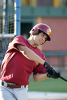 Robert Stock - 2008 USC Trojans.Photo by:  Bill Mitchell/Four Seam Images