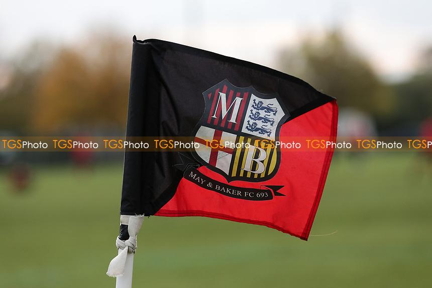 Corner flag during May & Baker vs Swaffham Town, Buildbase FA Vase Football at Gale Street on 4th November 2018
