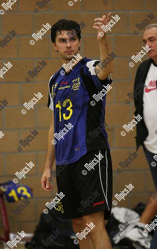 2008-09-07 / Volleybal / Amigos Zoersel / Serge Martens..Foto: Maarten Straetemans (SMB)