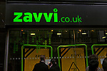 Zavvi, the CD and DVD chain formerly known as Virgin Megastores, has crashed into administration, threatening over 3,400 jobs. Notices posted outside Zavvi store, Ipswich, Suffolk, England on 27th December 2008