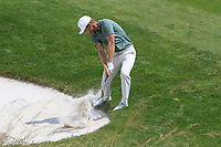 Lucas Bjerregaard (DEN) in a bunker on the 12th during Round 3 of the HNA Open De France at Le Golf National in Saint-Quentin-En-Yvelines, Paris, France on Saturday 30th June 2018.<br /> Picture:  Thos Caffrey | Golffile