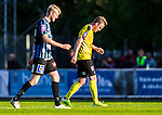 ***BETALBILD***  <br /> Uppsala 2015-05-21 Fotboll Superettan IK Sirius - Mj&auml;llby AIF :  <br /> Mj&auml;llbys Marcus Ekenberg deppar under matchen mellan IK Sirius och Mj&auml;llby AIF <br /> (Foto: Kenta J&ouml;nsson) Nyckelord:  Superettan Sirius IKS Mj&auml;llby AIF depp besviken besvikelse sorg ledsen deppig nedst&auml;md uppgiven sad disappointment disappointed dejected