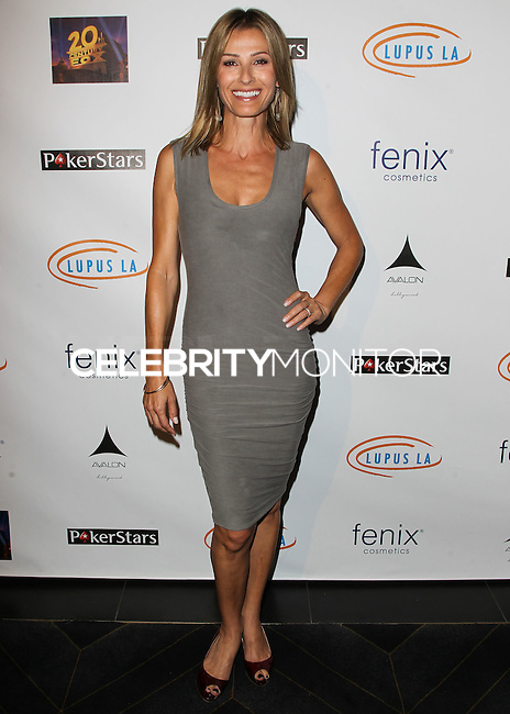 HOLLYWOOD, LOS ANGELES, CA, USA - SEPTEMBER 18: Sandra Hess arrives at the 'Get Lucky For Lupus' 6th Annual Poker Tournament held at Avalon on September 18, 2014 in Hollywood, Los Angeles, California, United States. (Photo by Celebrity Monitor)