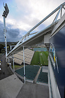 A general view of the stadium before the first leg of FIFA World Cup Russia 2018 qualifying football match between the New Zealand All Whites and Solomon Islands at QBE Stadium in Albany, New Zealand on Friday, 1 September 2017. Photo: Dave Lintott / lintottphoto.co.nz
