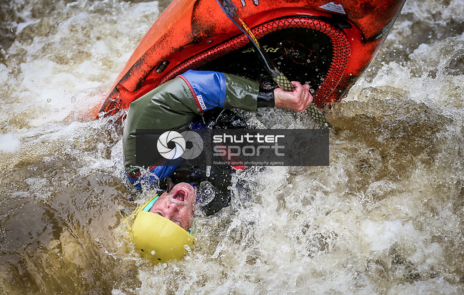 NELSON, NEW ZEALAND - JANURARY 13 White Water Kayaking Maitai River on January 13 2017 in Nelson, New Zealand. (Photo by: Evan Barnes Shuttersport Limited)