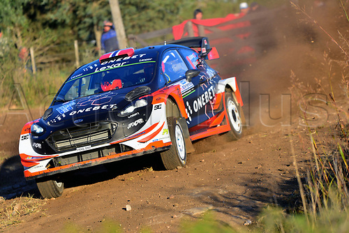 April 27th 2017, Cordoba, Argentina; WRC YPF Rally Argentina 2017 , stages SS1-SS5;  OSTBERG