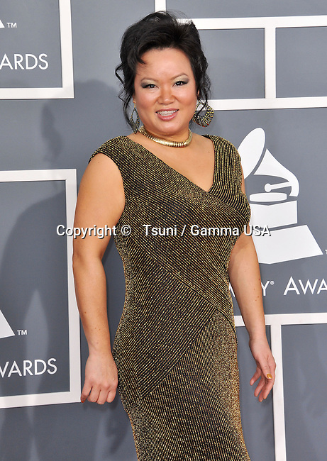 Angelin Chang _602 at  the 55th Ann. Grammy Awards 2013 at the Staples Center in Los Angeles.