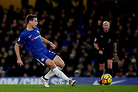 Cesar Azpilicueta of Chelsea in action during Chelsea vs West Bromwich Albion, Premier League Football at Stamford Bridge on 12th February 2018