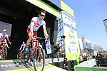 Team Katusha Alpecin at sign on before the 2019 E3 Harelbeke Binck Bank Classic 2019 running 203.9km from Harelbeke to Harelbeke, Belgium. 29th March 2019.<br /> Picture: Eoin Clarke | Cyclefile<br /> <br /> All photos usage must carry mandatory copyright credit (© Cyclefile | Eoin Clarke)