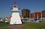 Lighthouse in Saint John, New Brunswick - Day 2 - August 1, 2010 - So Long Springfield at Sea - A day in port in Saint John, New Brunswick, Canada from the Carnival's Glory (Photos by Sue Coflin/Max Photos)