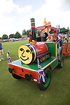 Toy train ride for children