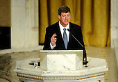 Boston, MA - August 29, 2009 -- United States Representative Patrick Kennedy (Democrat of Rhode Island) gives his remembrance of his father at the Basilica of Our Lady of Perpetual Help Catholic Church in Boston, Massachusetts, USA for the funeral Mass for Kennedy 29 August 2009. Senator Edward Kennedy, 77, died 25 August 2009 after a battle with brain cancer..Credit: CJ  Gunther - Pool via CNP