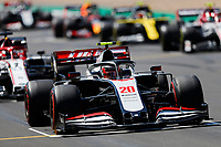 31st July 2020, Silverstone, Northampton, UK;  FIA Formula One World Championship 2020, Grand Prix of Great Britain, free practise;  20 Kevin Magnussen DEN, Haas F1 Team