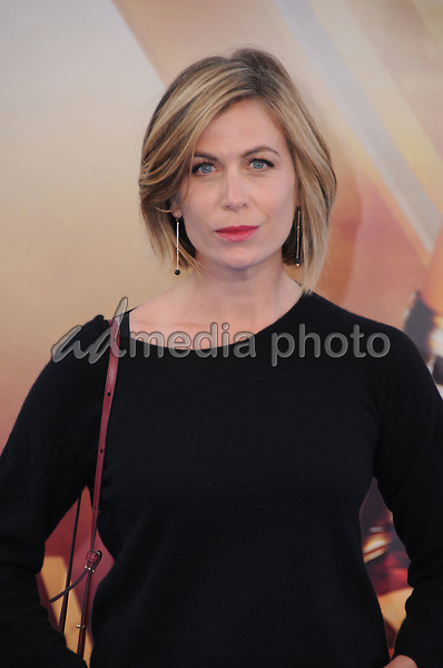 """25 May 2017 - Hollywood, California - Sonya Walger. World  Premiere of Warner Bros. Pictures'  """"Wonder Woman"""" held at The Pantages Theater in Hollywood. Photo Credit: Birdie Thompson/AdMedia"""