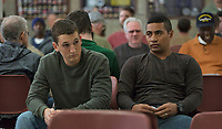 Thank You for Your Service (2017)<br /> Miles Teller and Beulah Koale<br /> *Filmstill - Editorial Use Only*<br /> CAP/FB<br /> Image supplied by Capital Pictures
