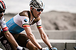 Oliver Naesen (BEL) AG2R La Mondial climbing during Stage 4 of 10th Tour of Oman 2019, running 131km from Yiti (Al Sifah) to Oman Convention and Exhibition Centre, Oman. 19th February 2019.<br /> Picture: ASO/P. Ballet | Cyclefile<br /> All photos usage must carry mandatory copyright credit (&copy; Cyclefile | ASO/P. Ballet)