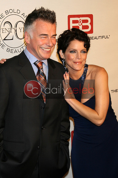 Ian Buchanan and Lesli Kay<br />at the celebration for &quot;The Bold and The Beautiful&quot; 20 years on air. Rodeo Drive, Beverly Hills, CA. 03-24-07<br />Dave Edwards/DailyCeleb.com 818-249-4998