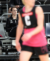15.09.2012 Silver Ferns Dr Lesley Rumball in action at training at the Hisense Arena In Melbourne ahead of the first netball test match between the Silver Ferns and Australia. Mandatory Photo Credit ©Michael Bradley.