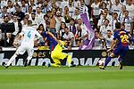 Supercopa de Espa&ntilde;a - Vuelta<br /> R. Madrid vs FC Barcelona: 2-0.<br /> Sergio Ramos, Lionel Messi, Keylor Navas &amp; Sergi Roberto.