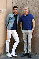 Arnaud Valois and film director Robin Campillo<br /> Roma 28/09/2017. '120 battiti al minuto' (120 battements par minute) Photocall<br /> Rome September 28th 2017. '120 Beats per Minute' photocall in Rome<br /> Foto Samantha Zucchi Insidefoto